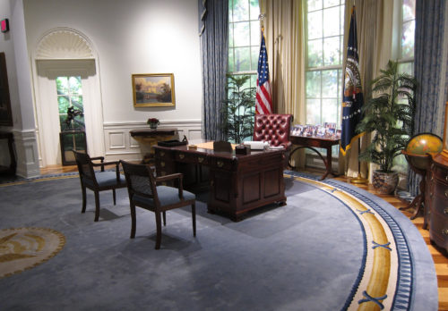 Trump To Turn Oval Office Into Locker Room