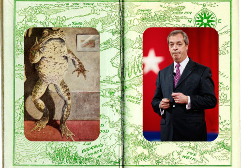 Nigel Farage Mr Toad