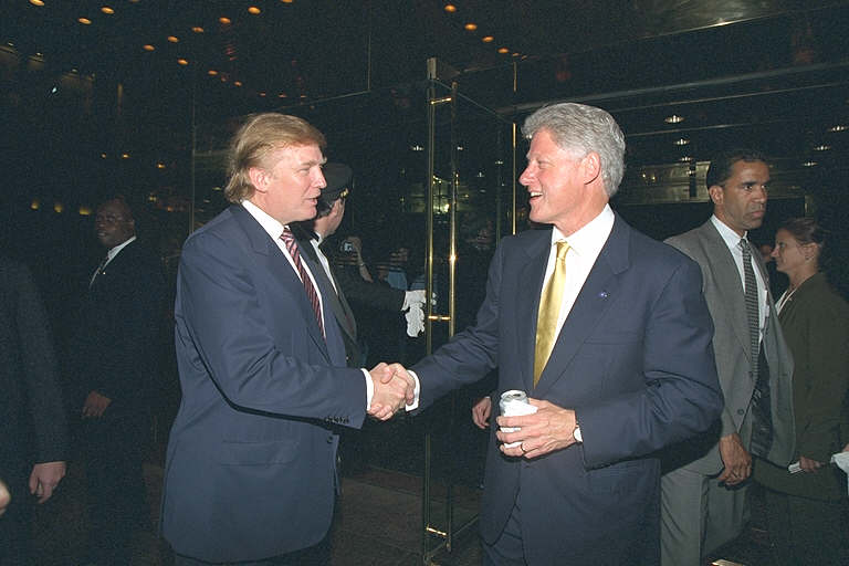 Mook News - Donald_Trump_and_Bill_Clinton