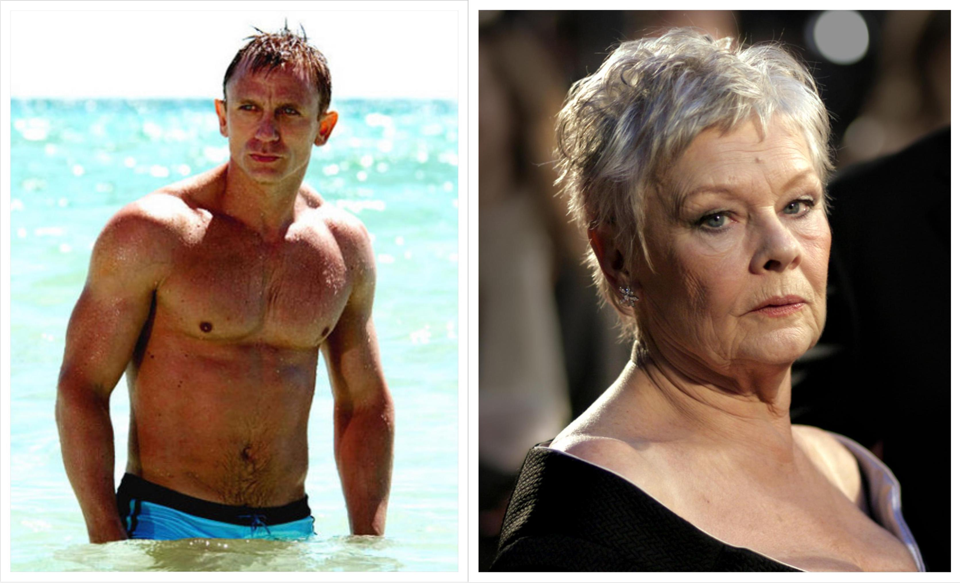 Mook News - Daniel Craig and Judi Dench