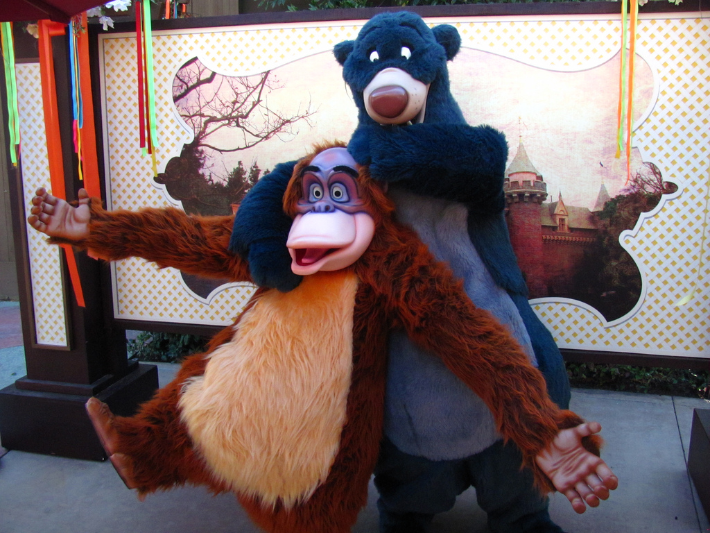 Mook News - King Louie and Baloo