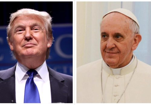 Mook News - Trump & Pope