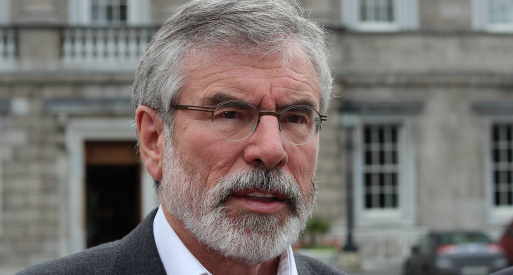 Mook News - Gerry Adams