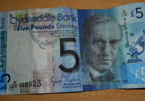 Mook News - Clydesdale £5 note
