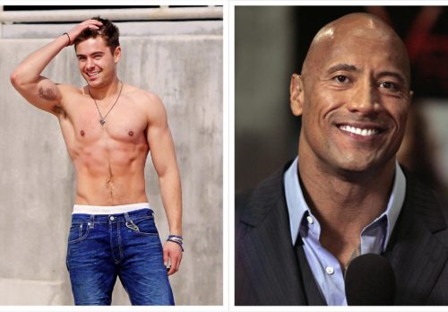 Mook News - Zac Efron and Dwayne Johnson