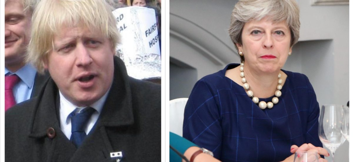 Mook News - Boris Johnson & Theresa May