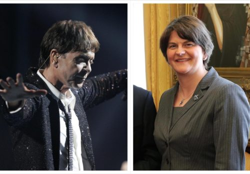 Mook News - Cliff Richard & Arlene Foster