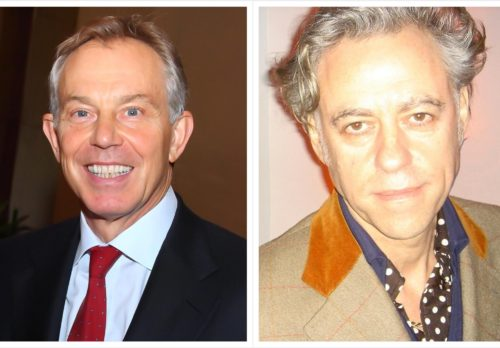 Mook News - Tony Blair & Bob Geldof