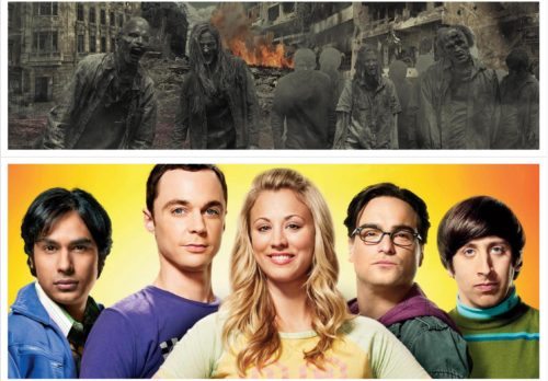 Mook News - The Big Bang Theory & The Walking Dead