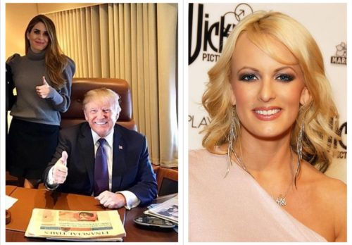 Mook News - Stormy Daniels & Hope Hicks